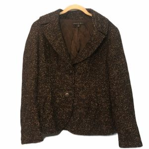 Lafayette 148 Virgin Wool Mohair Blazer
